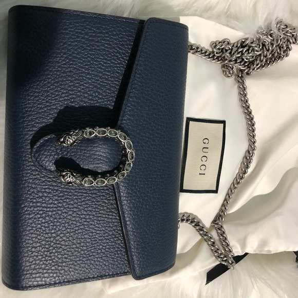 Gucci Handbags - GUCCI WALLET ON CHAIN